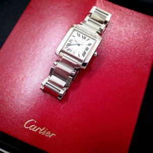 カルティエの時計の入門モデル♪Cartier タンクフランセーズ