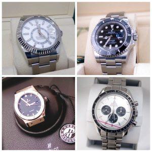 人気の腕時計を高価買取!